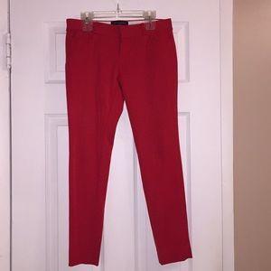 Pants - Banana Republic red Sloan fit pants